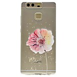 For Huawei P9 P9 Lite Pattern Case Back Cover Case Flower Soft TPU for P8 P8 Lite Y5 II / Honor 5