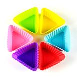 1 шт. Формы для пирожных 3D Повседневное использование Силиконовые Инструмент выпечки