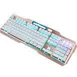 Bazalias v9 104keys usb с подсветкой проводная игровая клавиатура с кабелем 150 см