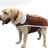 Собака Комбинезоны Одежда для собак На каждый день Сплошной цвет
