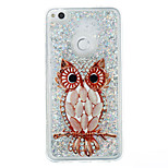 For Huawei P9 Lite P8 Lite Case Cover Owl Pattern Flash Powder Quicksand TPU Material Phone Case P8 Lite (2017)