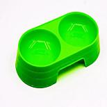 Dog Bowls & Water Bottles Pet Bowls & Feeding Portable Blue Green