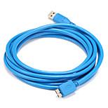 USB 3.0 Кабель, USB 3.0 to USB 3.0 Micro-B Кабель Male - Male 1.5M (5Ft)