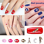 Rhinestones Nail Art DIY Nail Polish Alloy Accessories Mini Pearl Lip Pearl Bow Accessories Nail Art Design