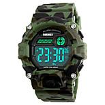 SKMEI Ανδρικά Αθλητικό Ρολόι Στρατιωτικό Ρολόι Μοδάτο Ρολόι Ρολόι Καρπού Ψηφιακό ρολόι Ιαπωνικά ΨηφιακόLED Ημερολόγιο Ανθεκτικό στο Νερό