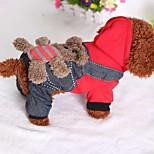 Собака Комбинезоны Одежда для собак На каждый день Джинсы