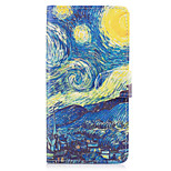 Case For Huawei P10 Lite P8 Lite (2017) Case Cover The Starry Sky Pattern PU Leather Cases for Huawei P9 Lite Mate 9 Y625 Changxiang5