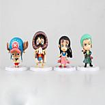 Аниме Фигурки Вдохновлен One Piece Monkey D. Luffy ПВХ 7 См Модель игрушки игрушки куклы