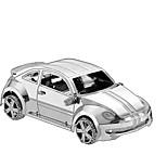 Пазлы Набор для творчества 3D пазлы Металлические пазлы Строительные блоки Игрушки своими руками Автомобиль