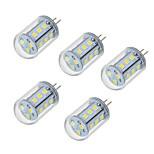 5W Двухштырьковые LED лампы T 18 SMD 2835 450-550 lm Тёплый белый Холодный белый V 5 шт.