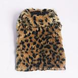 Собака Свитера Одежда для собак На каждый день Леопардовый принт Цвет-леопард