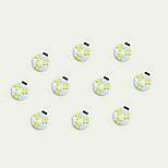 1W Двухштырьковые LED лампы 6 SMD 5630 75 lm Тёплый белый Белый DC 12 V 10 шт.