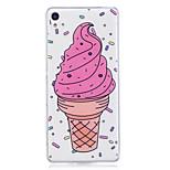 Case for Sony xperia m2 xa tok fedél fagylalt mintás festett nagy behatolás tpu anyag imd folyamat lágy tok telefonos tok Sony Xperia xz