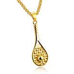 Муж. Ожерелья с подвесками Треугольной формы Титановая сталь Массивные украшения Бижутерия НазначениеДля вечеринок День рождения