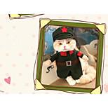 Кошка Собака Костюмы Одежда для собак Косплей Морской Красный Розовый Охотничий зеленый