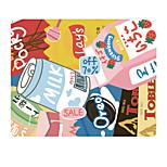 Гало оригинальная ткань коврик для мыши закуска японская милая натуральная резиновая ткань 22 * 18 см