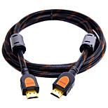 HDMI 2.0 Кабель, HDMI 2.0 to HDMI 2.0 Кабель Male - Male Позолоченная медь 0,5М (1.5ft)