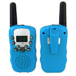 Retevis RT-388 UHF 462.5625-467.7250MHz 22CH LCD Kids Walkie Talkie for Children (1 Pair)