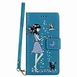 Чехол для huawei p8 lite (2017) p8 lite чехол чехол карта держатель кошелек с подставкой светится в темном флип-чемоданном случае