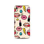 Чехол для iphone 7 плюс 7 крышка прозрачный узор задняя крышка чехол сексуальная леди мягкая tpu для яблока iphone 6s плюс 6 плюс 6s 6 se