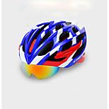 Жен. Муж. Велоспорт шлем 22 Вентиляционные клапаны Велоспорт Велосипедный спорт