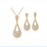 Damskie Bridal Jewelry Sets sztuczna Diament Modny euroamerykańskiej Kropla Na Impreza Wydarzenie / impreza Na co dzień Prezenty ślubne