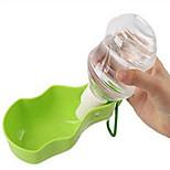 Собака Миски и бутылки с водой Животные Чаши и откорма Зеленый