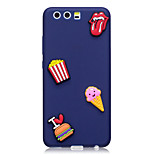 Case For Huawei P10 P10 Plus Case Cover Ice Cream Pattern Fruit Color TPU Material DIY Phone Case