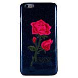 Для яблока iphone 7 плюс 7 чехлы для обложки задняя крышка чехол цветок твердый ПК 6 с плюс 6 плюс 6 с 6