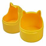 Кошка Собака Миски и бутылки с водой Животные Чаши и откорма Водонепроницаемый Регулируется/Выдвижной Компактность Двусторонний Складной