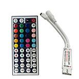 Mini 24 nøgler rgb ir fjernbetjening til 3528 eller 5050 rgb led strimler lille rgb controller gratis forsendelse