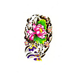 Temporary Tattoos Shoulder Back Totem Series 3D Waterproof Tattoos Stickers Non Toxic Glitter Large Fake Tattoo Body Jewelry Halloween Gift 22*15cm