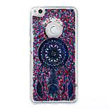 Til huawei p9 lite p8 lite case cover drøm catcher mønster flash pulver quicksand tpu materiale telefon taske p8 lite (2017)