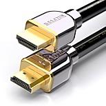 HDMI 2.0 Кабель, HDMI 2.0 to HDMI 2.0 Кабель Male - Male 4K*2K Позолоченная медь 2.0m (6.5Ft)