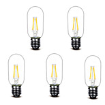 ® Shenmeile 3W E27 LED Filament Bulbs T 4 COB 400 lm Warm White Decorative AC220 V 5 pcs