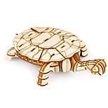 Пазлы Набор для творчества 3D пазлы Строительные блоки Игрушки своими руками Животный принт Натуральное дерево