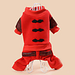 Dog Clothes/Jumpsuit Dog Clothes Casual/Daily Solid