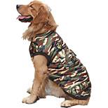 Собака Жилет Одежда для собак На каждый день Полиция/армия Камуфляж цвета