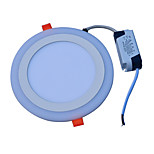 Panellamper Kold hvid Blå LED 1 stk.