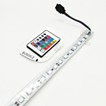 8W Światła LED podłużne 700-800 lm DC12 V 0,5 m 36 Diody lED RGB