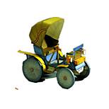 Пазлы Набор для творчества 3D пазлы Строительные блоки Игрушки своими руками Автомобиль