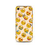 Чехол для iphone 7 плюс 7 крышка прозрачный узор задняя крышка чехол мультяшное выражение мягкое tpu для яблока iphone 6s плюс 6 плюс 6s 6