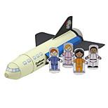 Пазлы Набор для творчества 3D пазлы Строительные блоки Игрушки своими руками Летательный аппарат Космический корабль Авиатор