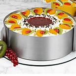 26Stück / Set Kuchenformen Kreisförmig Neuheit Für Kochutensilien Für Kuchen Edelstahl StahlMulti-Funktion nicht-haftend Backen-Werkzeug