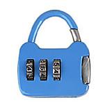Другой сплав цинка пароль замок 3 знака пароль ноутбук небольшой пароль блокировка мини-сумка блокировка металл чемодан коробка сумка