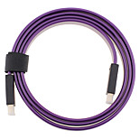 HDMI 1.4 Cable, HDMI 1.4 to HDMI 1.4 Cable Macho - Macho 2,0 m (6.5 pies)