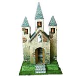 Пазлы Набор для творчества 3D пазлы Строительные блоки Игрушки своими руками Ветряная мельница Знаменитое здание Плотная бумага
