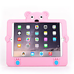 For Apple iPad Mini 3/2/1 Shockproof Back Cover Case Solid Color 3D Cartoon Soft Silicone