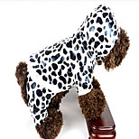 Dog Coat Dog Clothes Casual/Daily Cosplay Zebra Leopard