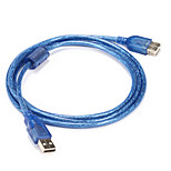 USB 2.0 Adapter Cable, USB 2.0 to USB 2.0 Adapter Cable Male - Male 1.5m(5Ft)